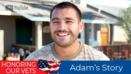 Honoring Our Vets - Adam's Story